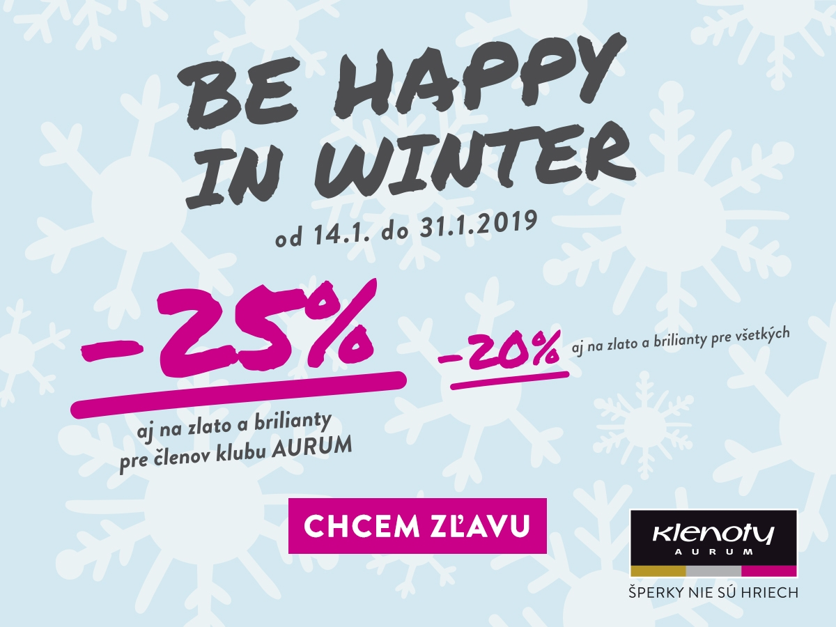 be happy in winter