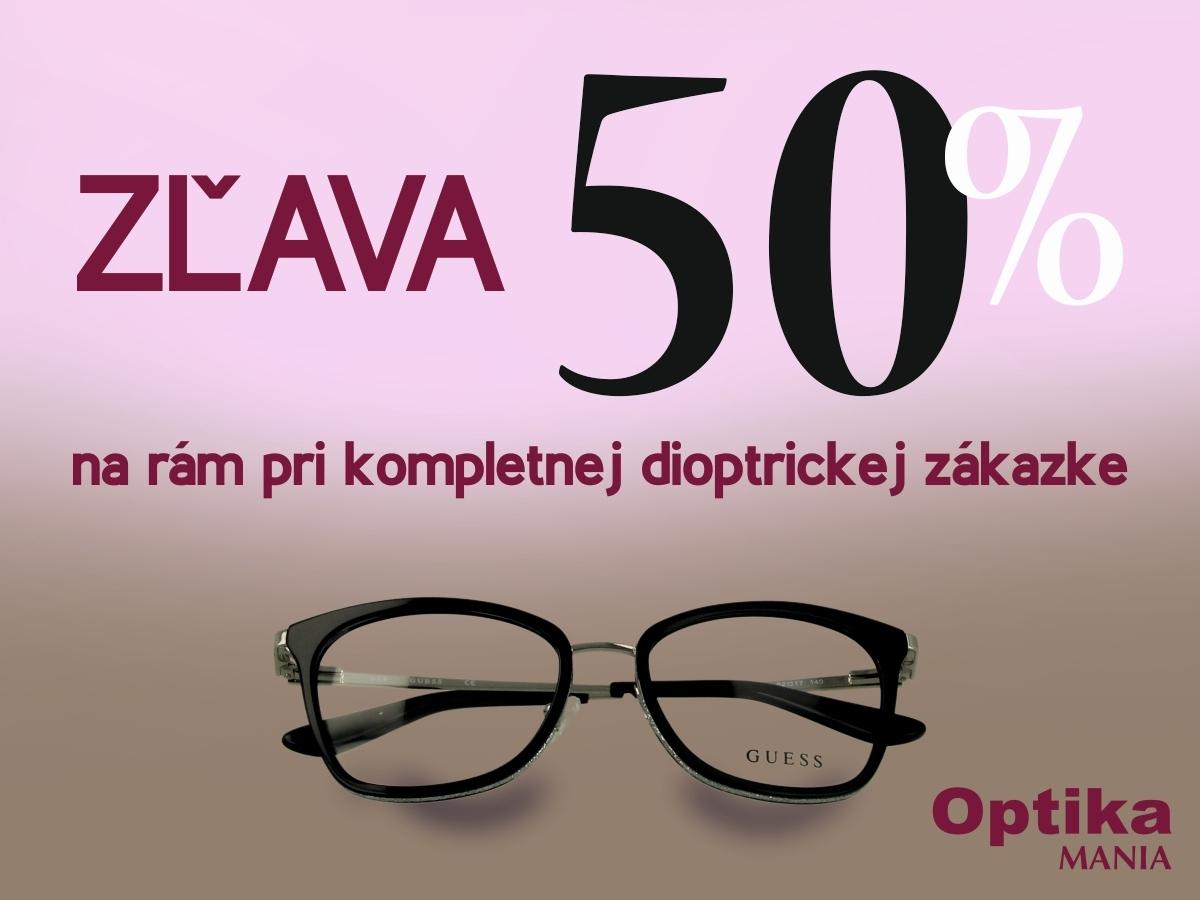 a6660e89a Očná optika MANIA | CITY ARENA